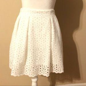 ⭐️3for$30 Express Eyelet Skater Skirt